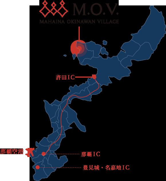 地図:沖縄本島