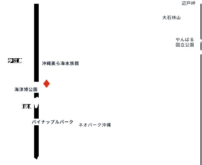 イラスト:沖縄本島北部やんばる